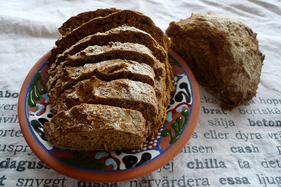 Sodabread is easy to make and way tastier than square loaves.